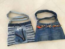 Handbags.Denim, one off original designs. Merrimac Gold Coast City Preview