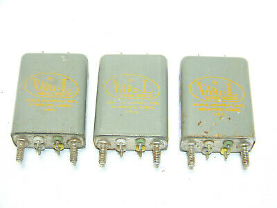 3 High Quality Hy Variable Inductor Filter Choke Electronic Part Vtg