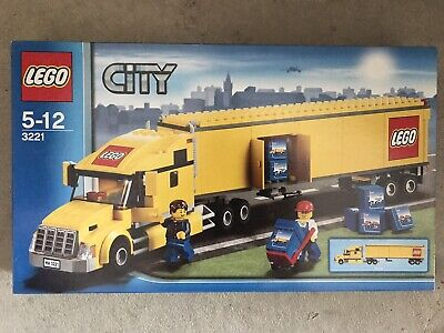 Lego Town City Traffic Set 3221 LEGO Truck New Complete Sealed!