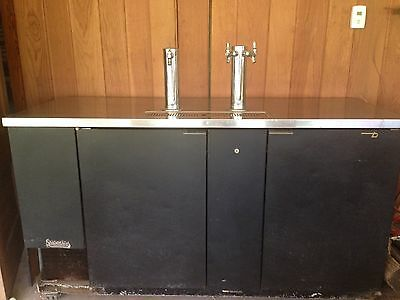 True Tdd 3 Direct Draw Beer Dispenser 70 3keg Kegerator W3 Taps We Ship
