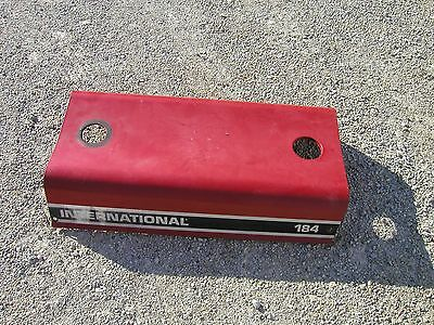 International Cub 184 185 Tractor Ih Real Nice Original Ih Hood For Over Engine
