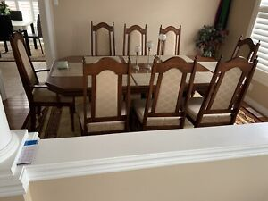 Hardwood Dinning Table For 8 person