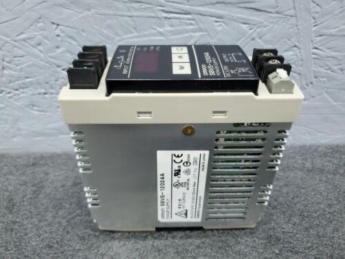 Omron S8VS-12024A Power Supply 24 VDC 5 Amp S8VS12024A PS 24V Input 110-240V