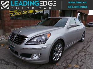 2013 Hyundai Equus Signature Massaging front seats, driver as...