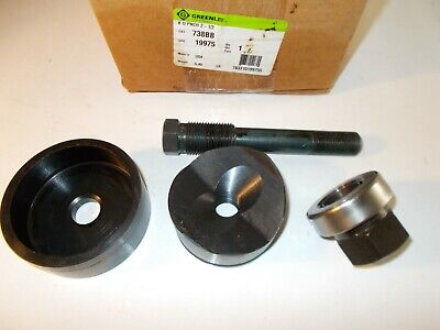 Greenlee 2-12 Hydraulic Knockout Punch Set 738bb