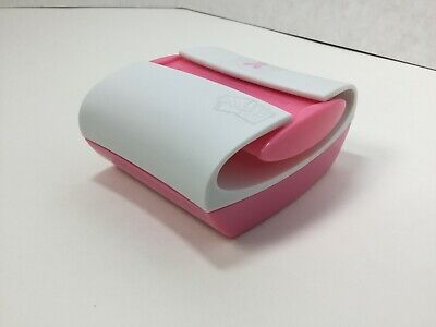 Post-it Pop-up Notes Dispenser Pink Ribbon White Top Pink Base Pro330