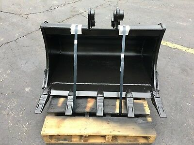 New 36 Heavy Duty Excavator Bucket For A Hyundai R352-7 W Coupler Pins