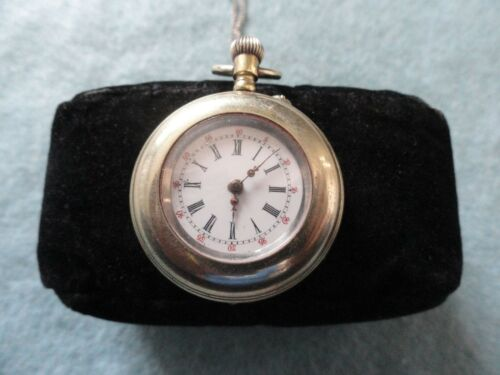 Very Old Mechanical Wind Up Necklace Pendant Watch - Problem