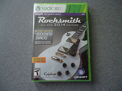 Rocksmith 2014 Edition - No Cable, Stickers or Box  XBox 360 for sale  Shipping to India