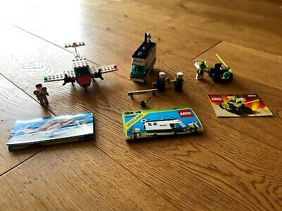 3 Vintage Lego Sets Complete With Instructions (Sets 6687, 6812 and 6676)