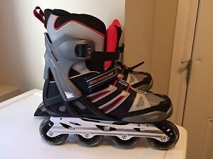 Men's Size 11 Rollerblades and Gloves