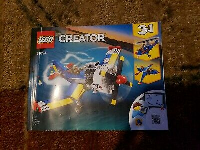 LEGO 31094 Creator 3 in 1 book