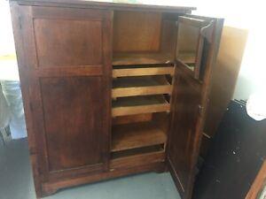 Timber Wardrobe / Cupboard