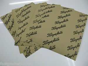 GASKET PAPER 1MM THICK - OIL AND WATER RESISTANT (5 X A4 SHEETS)
