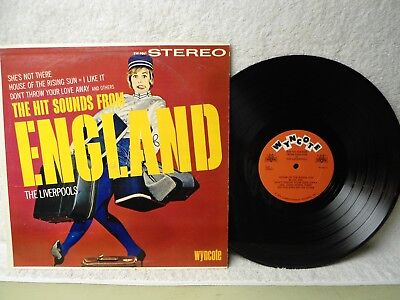 The Liverpools LP Hit Sounds From England Clean 1964 Rare Stereo Wyncote Orig!