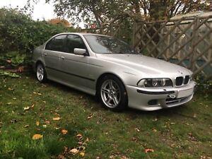 2002 BMW e39 530d Sport Auto Spares or Repair non-runner Titan Silver