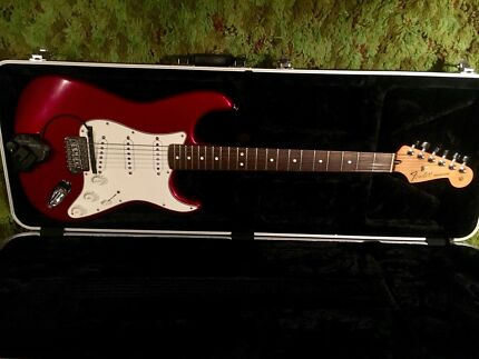 Fender Stratocaster with Custom Shop Texas Special Pickups and GK3