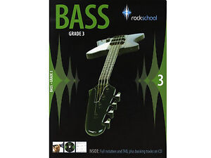 Rockschool Bass - Grade 3 (2006-2012) NEW