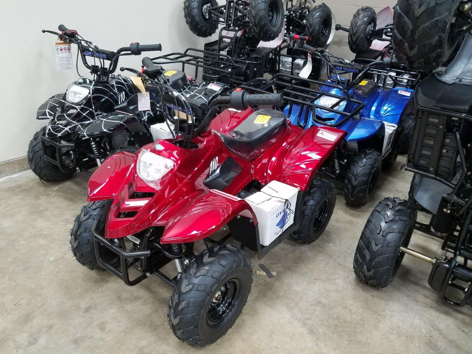 New Tao Motor 2019 110cc boulder b1 remote kill dual brakes free shipping New !