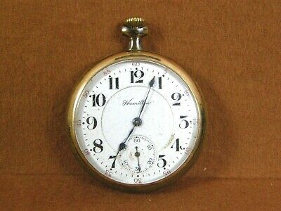 Hamilton 992, Model 1 Pocket Watch 21 Jewels Railroad Grade For Parts Only