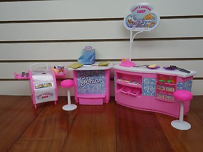 Gloria,Barbie Size Doll House Furniture/(9927) Candy & Ice Cream Shop