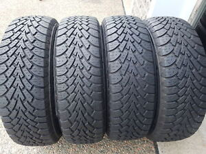 GOODYEAR NORDIC WINTER TIRES 195/65r15