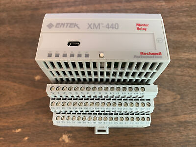Entek Xm-440 Master Relay Module With Terminal Block Rockwell Automation