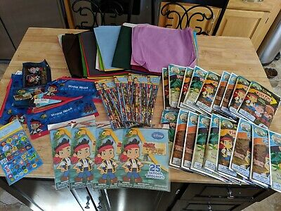 Disney JAKE AND THE NEVERLAND PIRATES Birthday Party Supply FAVORS - Princess And Pirate Decorations