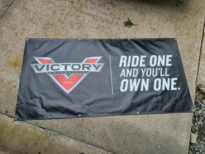Victory Motorcycles Banner Dealership Banner Ride One And You