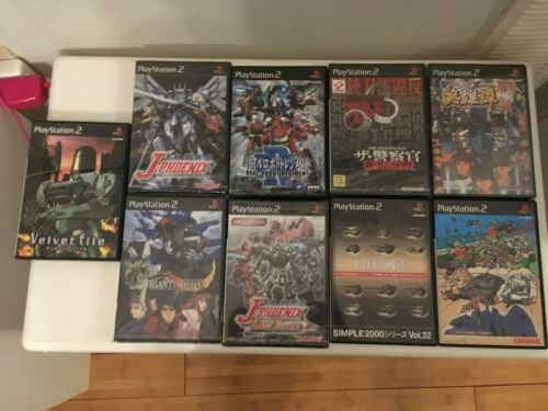 [LOT of 9] New and Used Import Sony Playstation 2 Games - US Seller