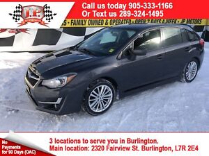 2015 Subaru Impreza 2.0, Tech Package, Sunroof, AWD