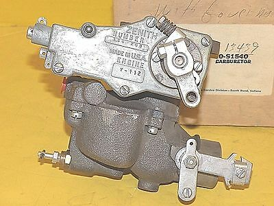ZENITH NEW Carburetor 0-S1540 WITH Governor CLARK 1946-52 CONTINENTAL Y69 F112
