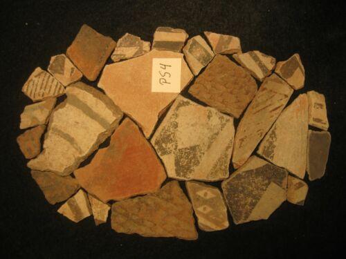 Arizona Anasazi Pottery Shards, Prehistoric American Indian Artifacts Lot, #PS4