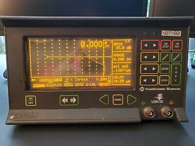 Krautkramer Branson Usn 50 Ultrasonic Flaw Detector - Thickness Gage