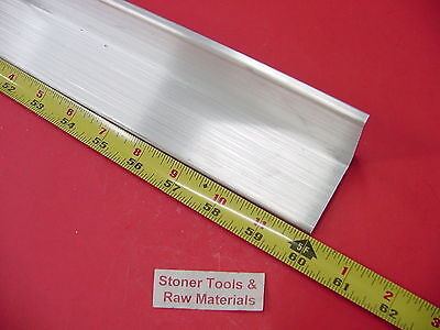 2x 2x 14 Aluminum 6061 Angle Bar 60 Long T6 Extruded Mill Stock .25 Thick