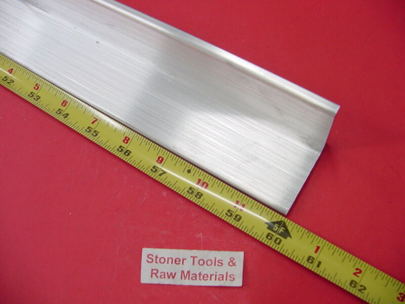 """2""""x 2""""x 1/4"""" ALUMINUM 6061 ANGLE BAR 60"""" long T6 Extruded Mill Stock .25"""" Thick"""