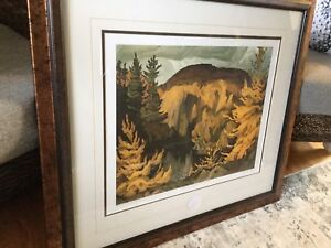 Beautiful  Group Of Seven print ( A.J. Casson 1959)