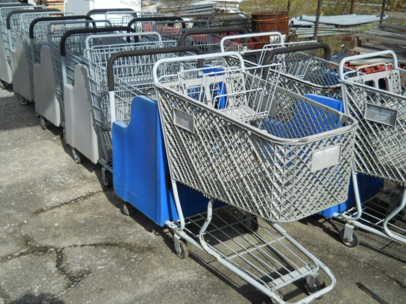 SHOPPING CARTS WITH SPECIAL CHILD SEATING, COMMERCIAL, RETAIL STORE