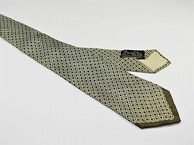 1940s Mens Ties | Wide Ties & Painted Ties Men's Vintage ROCKABILLY SWING 1940s Silk Tie NECKTIE WILSON FAUTLESS 527 PENN  $14.98 AT vintagedancer.com