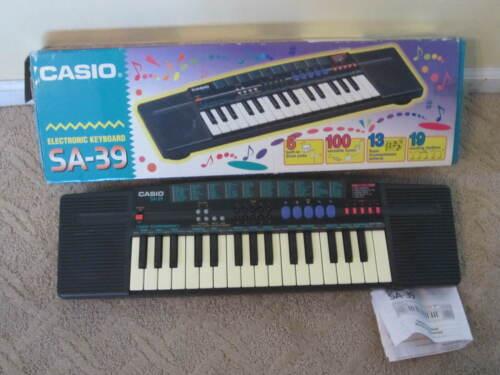 Casio SA-39 Electronic Keyboard Synthesizer Piano 32 Keys
