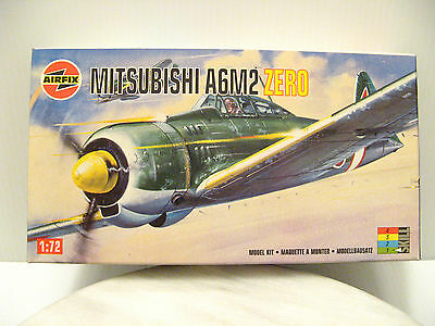 MITSUBISHI A6M2 ZERO JAPANESE AIRCRAFT Airfix Humbrol Model Kit SEALED BOX 1:72