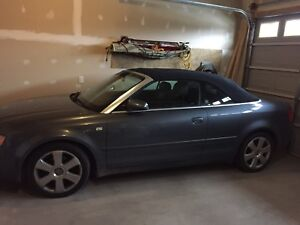 2004 Audi A4 convertible new roof