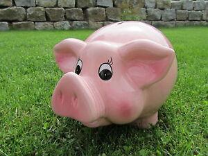 XXL Sparschwein Spardose Piggy Pink