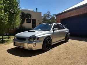 Subaru WRX Race Car