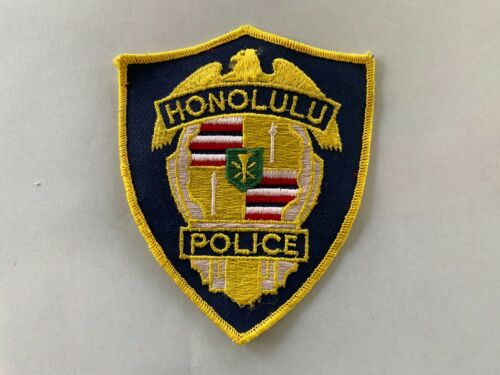 Honolulu police patch FREE SHIPPING