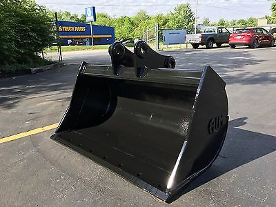 New 48 Komatsu Pc60 Pc78 Pc88 Ditch Cleaning Bucket With Coupler Pins
