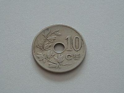 10 centimes belgique - 1905 - FR - TB - KM#52