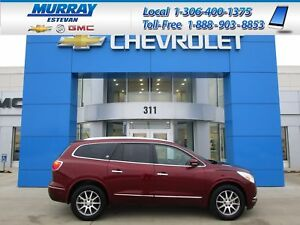 2017 Buick Enclave Leather REAR CAMERA! HEATED WHEEL!1 OWNER!