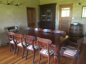 Mahogany Dining table and matching sideboard Ebor Guyra Area Preview