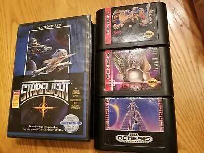 Sega Genesis *Rare Games Lot - Retro RPG & More  Sega Genesis Rpg Games